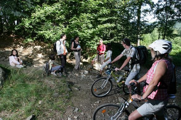 prise de vue avec figurants pour Destination Beaujolais